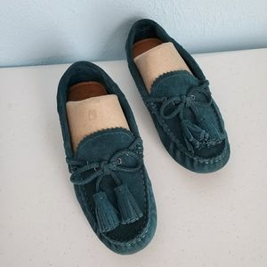 Coach Nadia suede moccasins driving loafers
